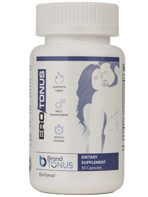 EroTonus - natural supplement to increase the sex drive in men